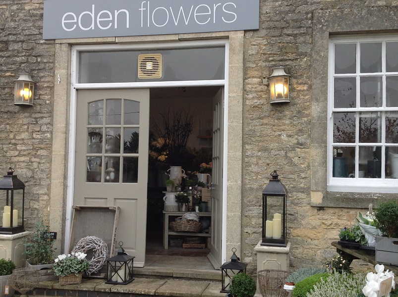 Eden Flowers - map photograph